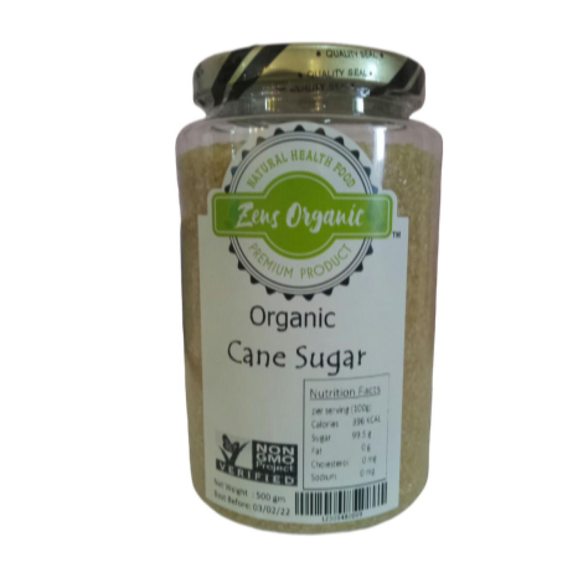 Zens Organic Cane Sugar 500g