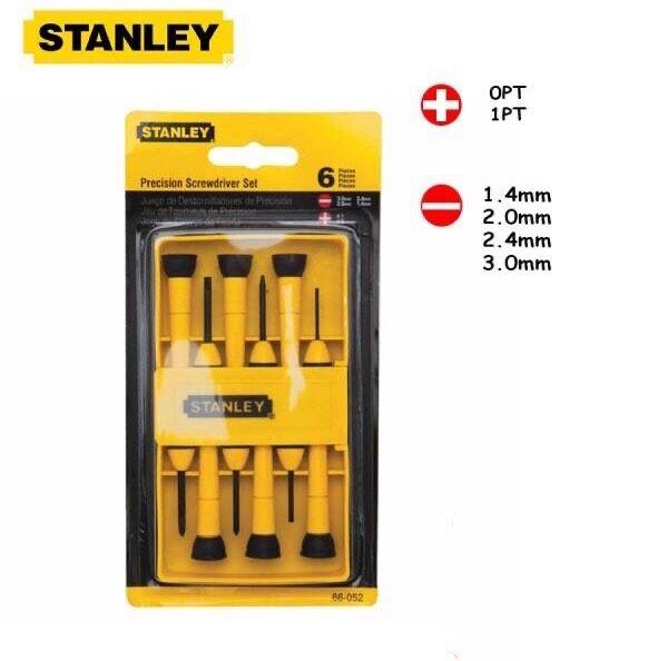Stanley Original 66-052 6-Piece Precision Screwdriver Set (STHT66052)