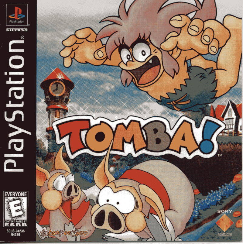 PS1 Game Tomba!