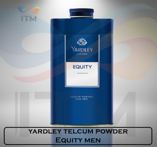 YARDLEY TALCUM POWDER EQUITY MEN 150 GM