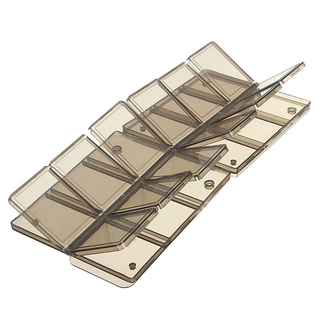 Windscreen Wipers & Windows - Foldable 12 Slot SIM/Micro SD/TF Memory Card Storage Case Box Holder Protector - Car Replacement Parts