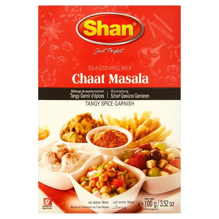 SHAN CHAAT MASALA MIX 100 GM