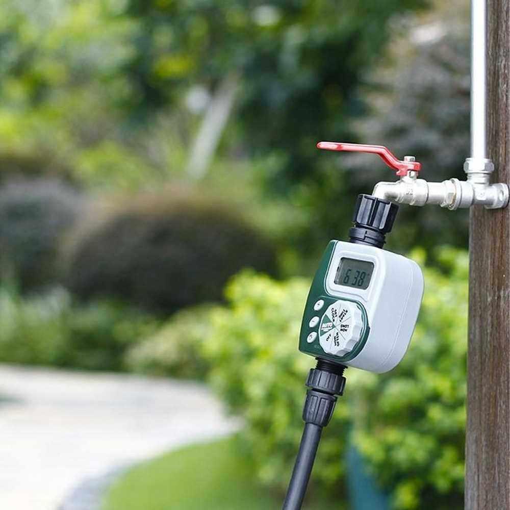 Best Selling Electronic Digital Hose End Timer Controller Digital Watering Timer Garden Irrigation Timer (Yellow)