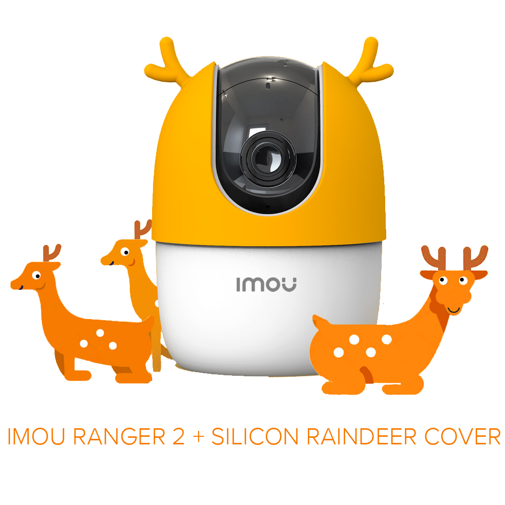 DAHUA IMOU Ranger 2 360° 1080P Full HD Wireless WiFi IP Camera with AI Human Detection & Smart Tracking Record (CCTV)