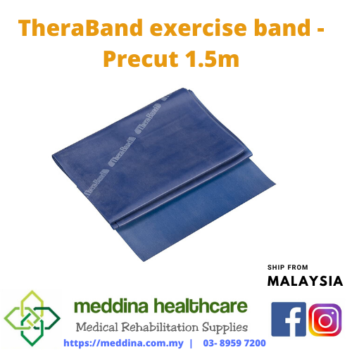 TheraBand exercise band - Precut 1.5m