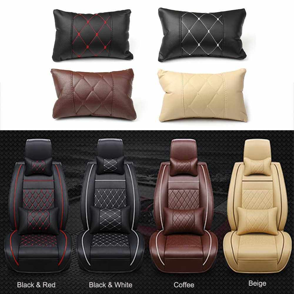 Best Selling Car Neck Pillow Headrest Cushion Neck Rest Pillow Interior Decor (Coffee)