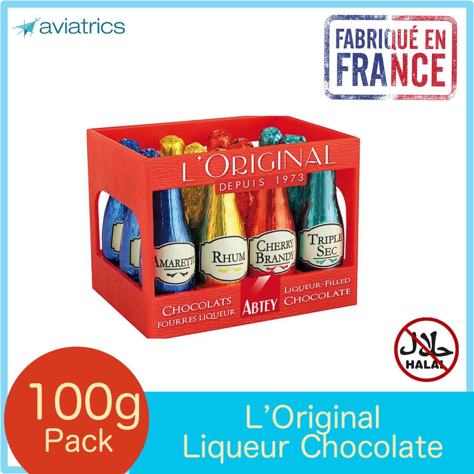 Abtey L'Original Liqueurs Milk Chocolate 12pcs 108g (Made in France)