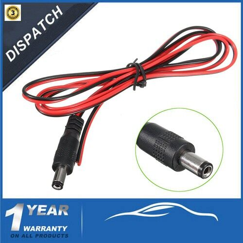 Gauges & Meters - 1 Meter / 3.28ft Car Rear View Camera Monitor Extend Video Cable Wiring Harness - Car Accessories