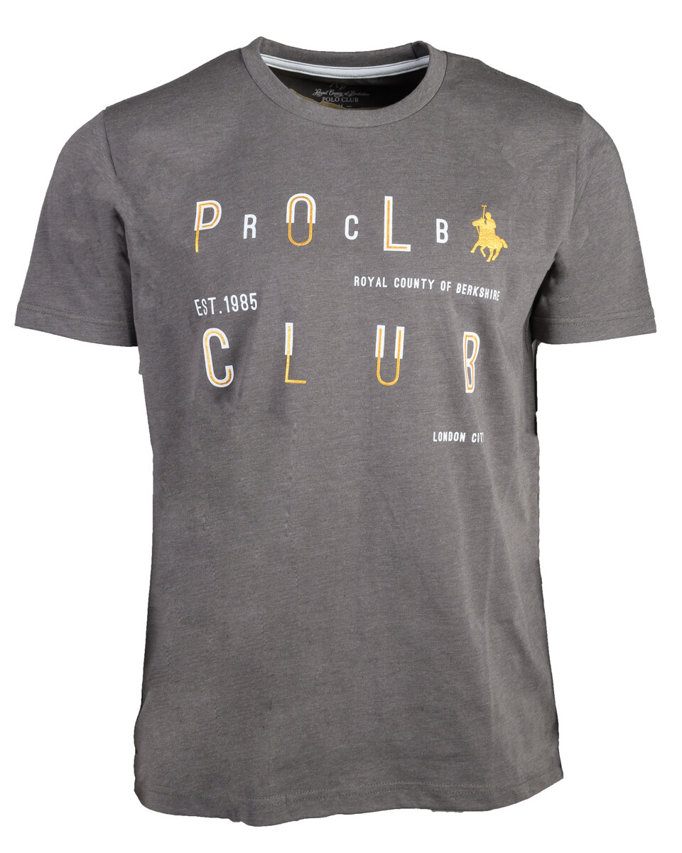 RCB POLO CLUB MEN ROUND NECK TEE RMRN11081-BB 0F12