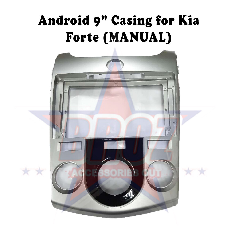 9 inches Car Android Player Casing for Kia Forte (Manual)