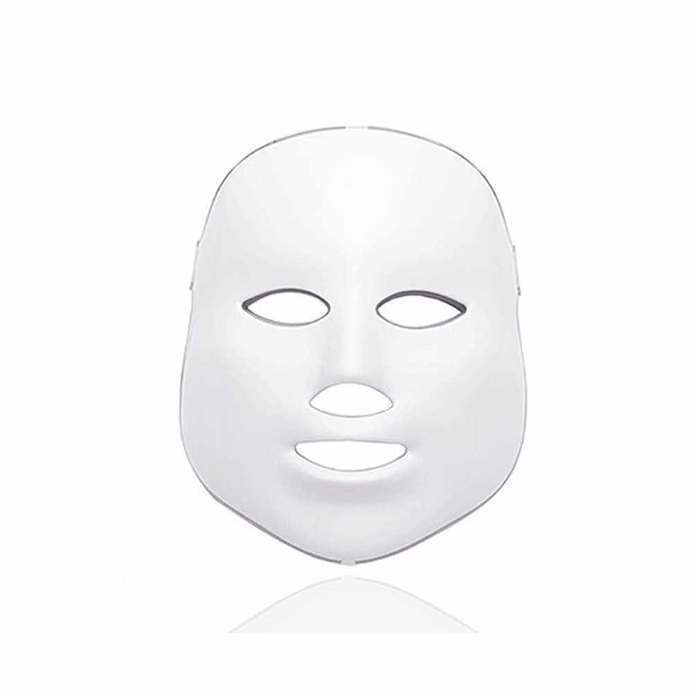 Seven-color Light-softening Spectral Mask LED Infrared Heating Household Facial Beauty Apparatus (Eu)