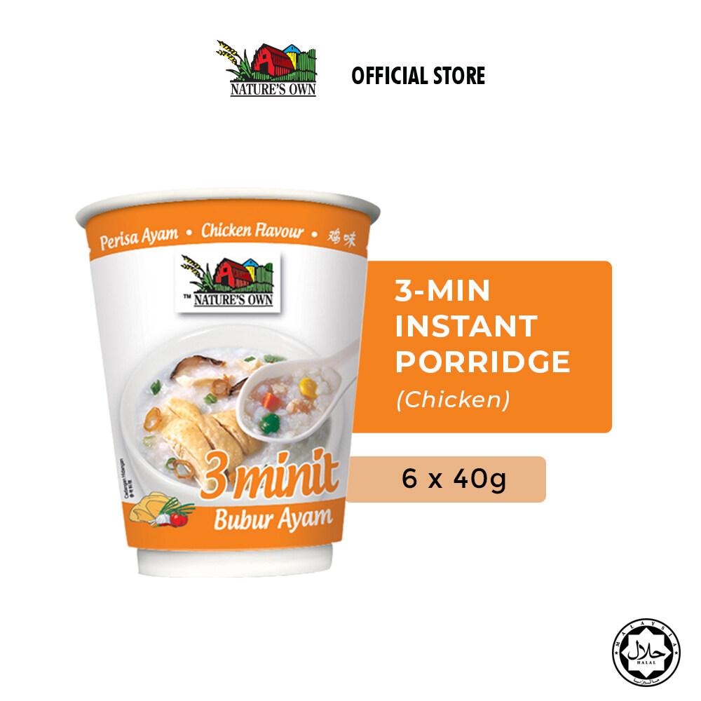 Nature's Own® 3 Minutes Porridge Bundle (Chicken) (6 x 40g)