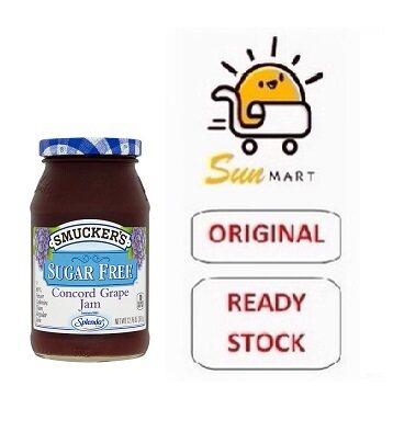 Smucker's Sugar Free Concord Grape Jam (361g)