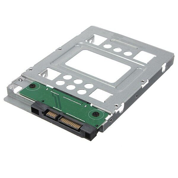 Cool Gadgets - 2.5\'\' SSD to 3.5\'\' SATA HDD Hard Disk Drive Adapter Caddy Tray Cage & Screw - Mobile & Accessories