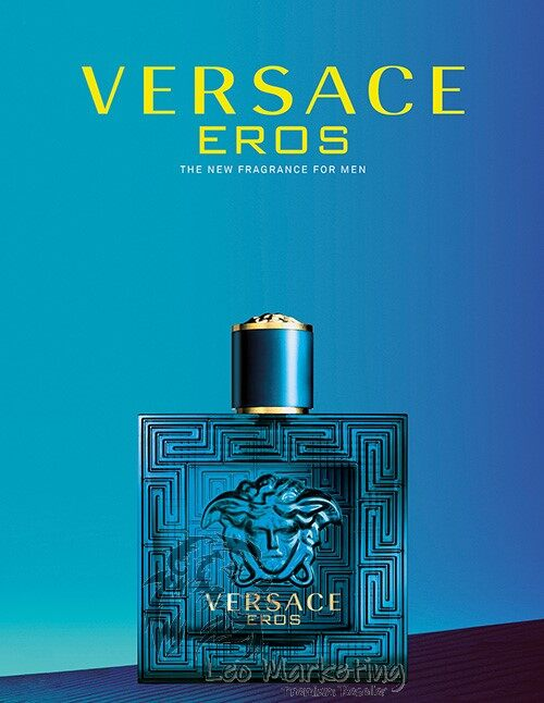 Leo Marketing -100% ORi- High Quality VERSACE EROS PERFUME FOR MEN 100ML