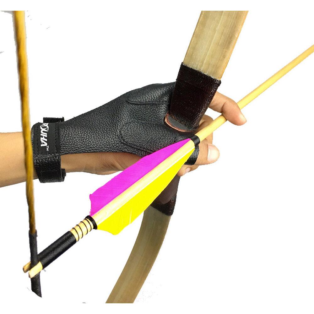 Arrouha Arrow Protective Hand Leather Glove