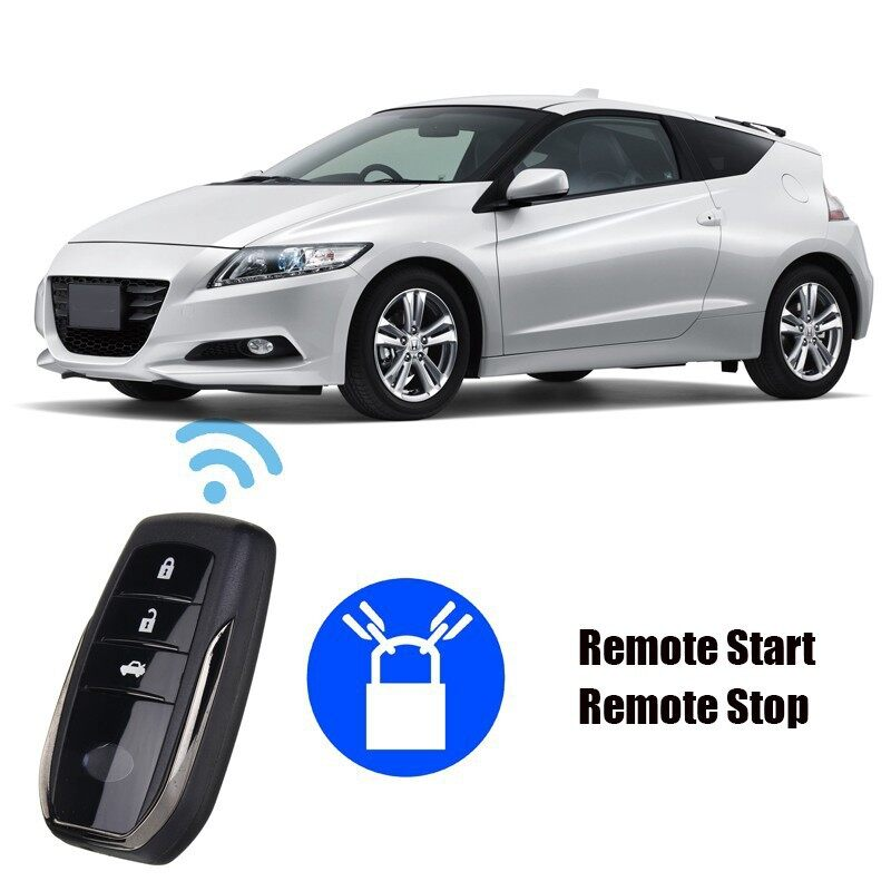 Car Lights - Smart Car Security Keyless Entry Push Start Alarm System Remote Starter Button - Replacement Parts