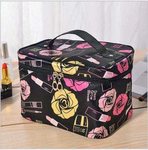 Cosmetic bag simple portable multi-function storage bag cute net red large capacity wash bag Korea large waterproof marykay