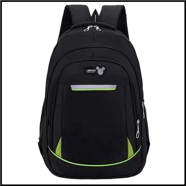 WS Solid Colour Super Light Kids Primary/Secondary/Backpack/Travel School Bag