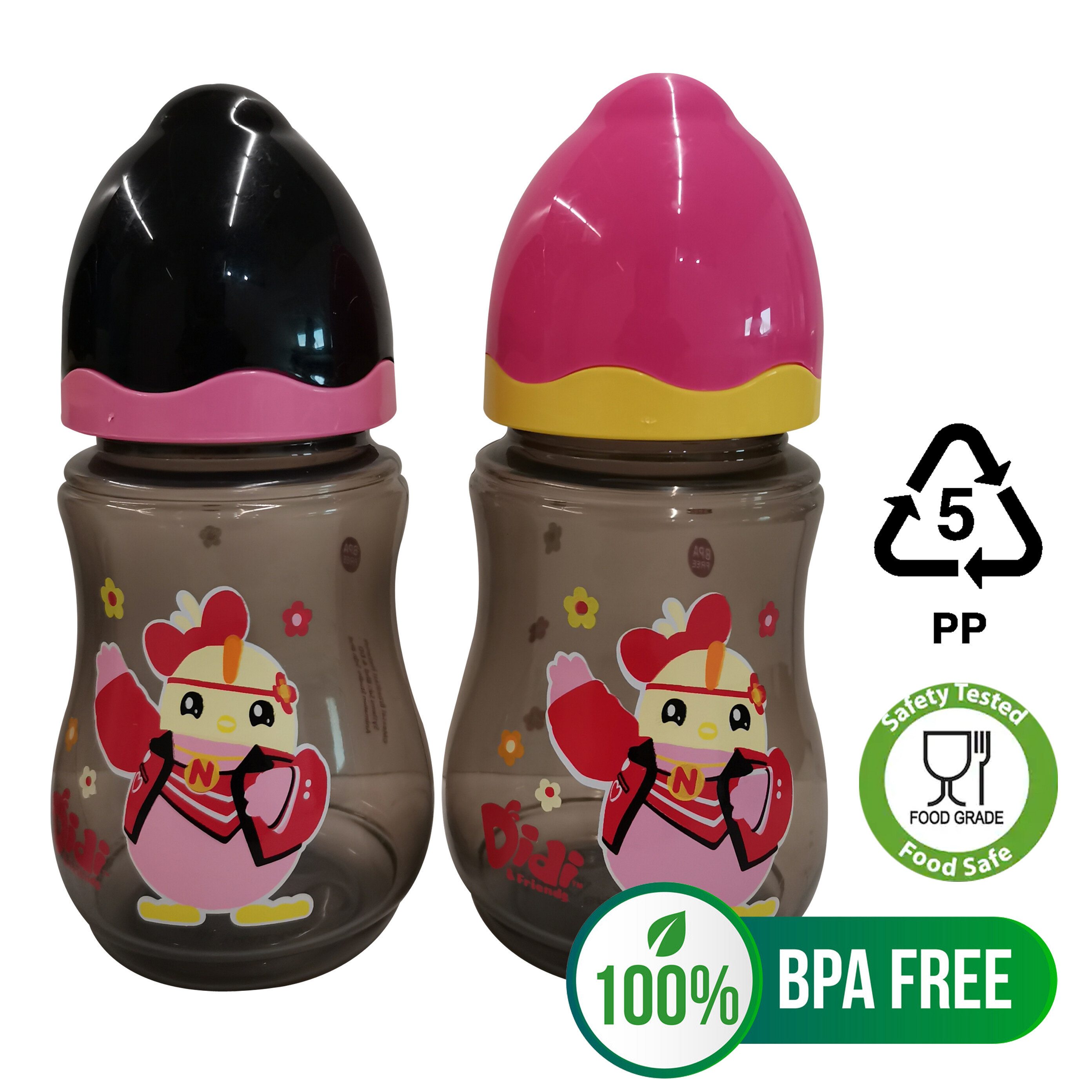 Didi & Friends NEW Nana 9oz Wide Neck Bottle (Twin Pack) [LIMITED STOCK!]