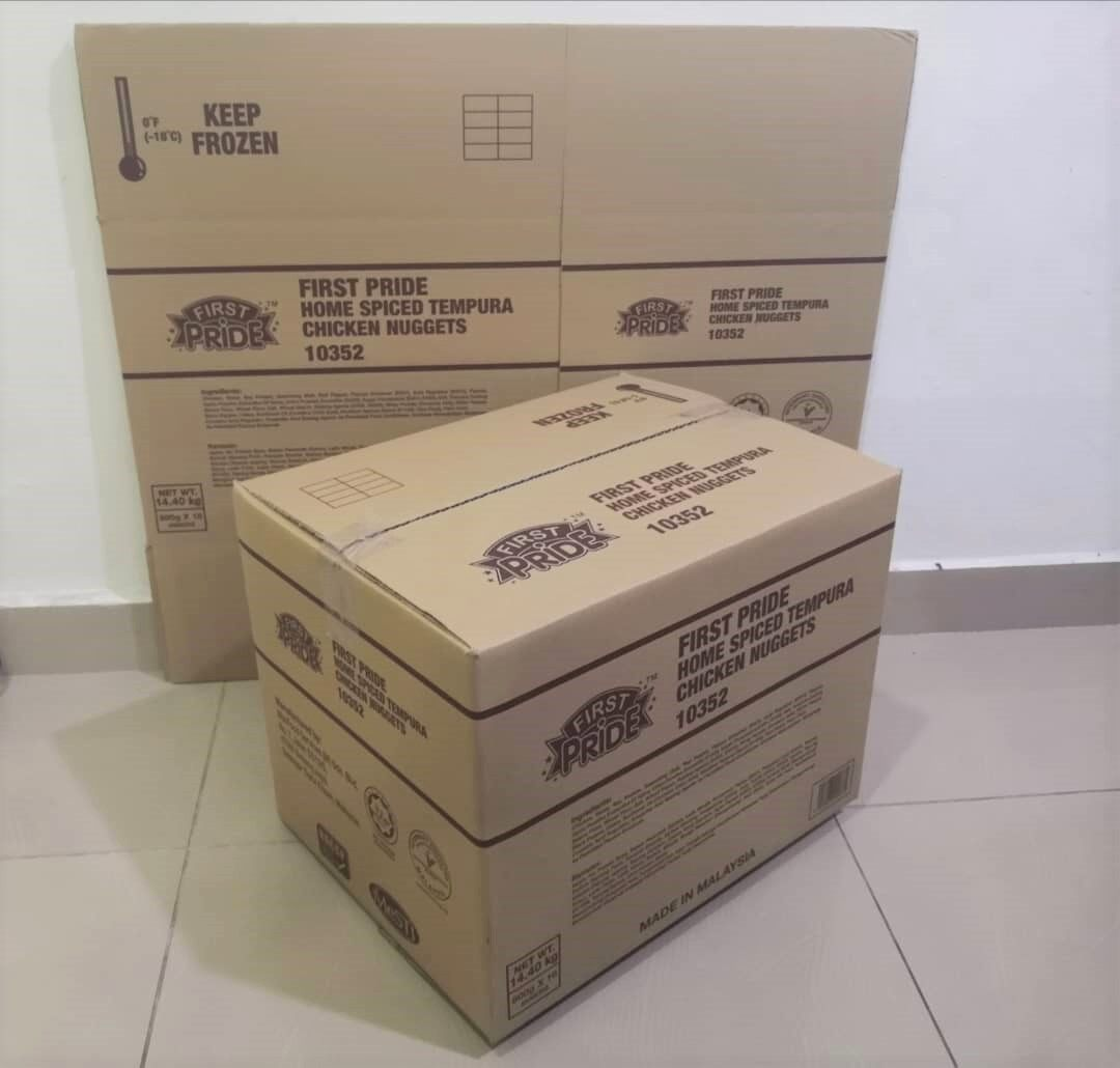 10pcs Printed Carton Boxes (L433 X W332 X H332mm)