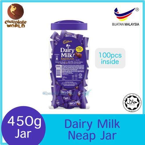 Cadbury Dairy Milk Neap Jar Chocolate 450g
