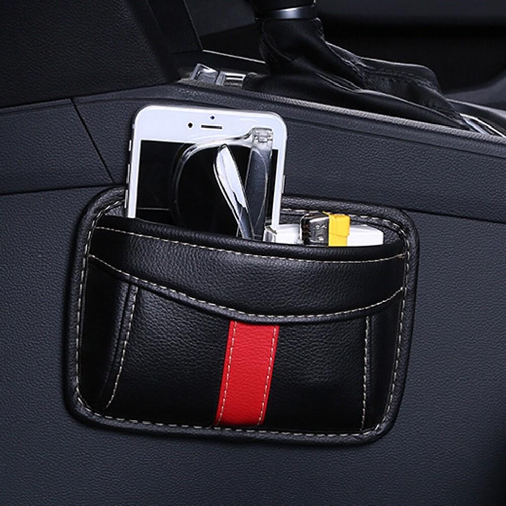 Organizers - Paste Type Car Seat Crevice Storage Bag PORTABLESeat Back Consle Organizer Box - Car Accessories