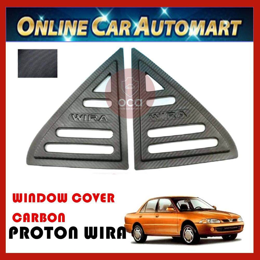 Rear Side Window Cover 2 Piece - Proton Wira (1993-2007)