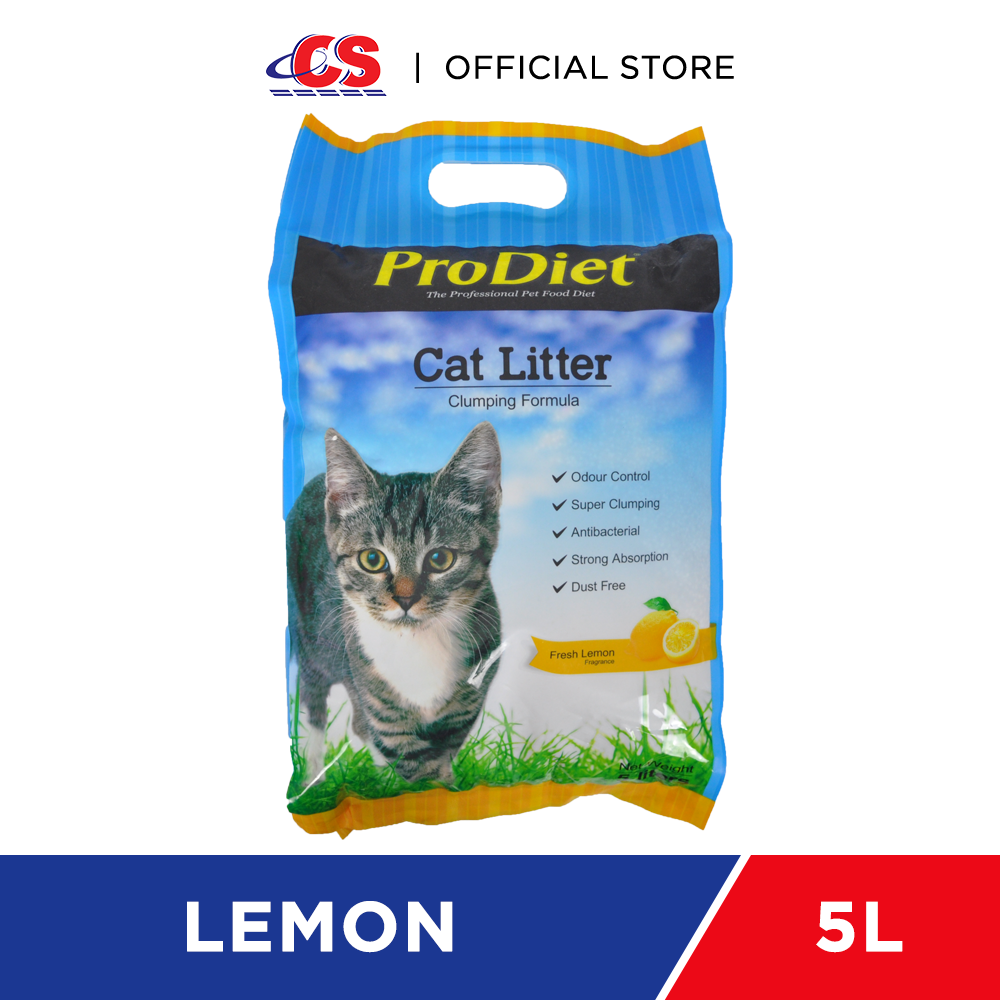 PRODIET Cat Litter Lemon 5L