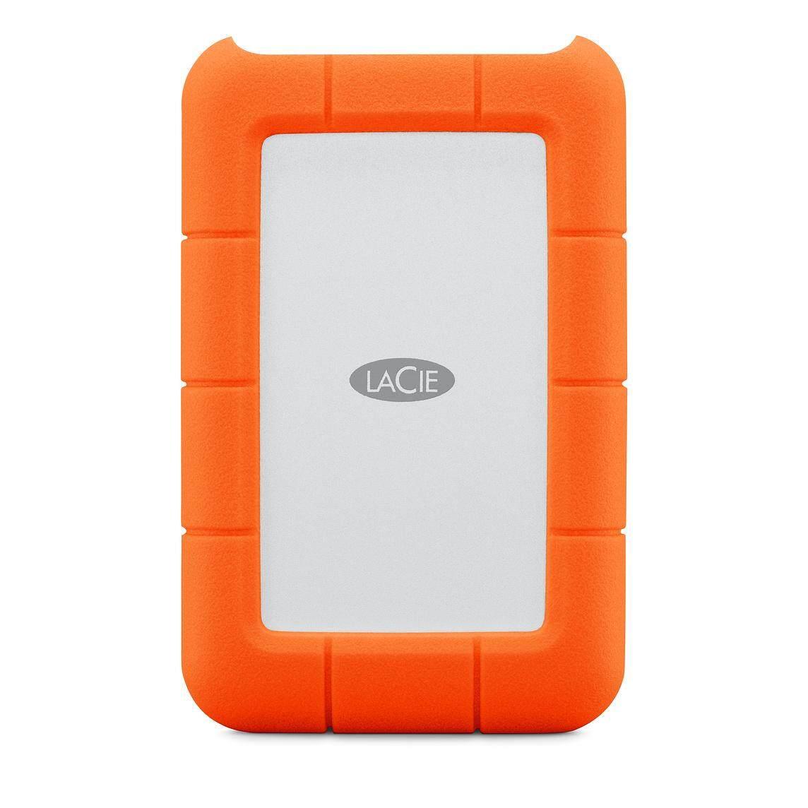 LaCie Rugged 1TB/2TB/4TB/5TB Portable Hard Disk Drive - USB 3.1 Type-C External Hard Disk Drive
