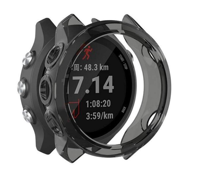 Soft Silicon Case For Garmin Forerunner 245 / 245 Music