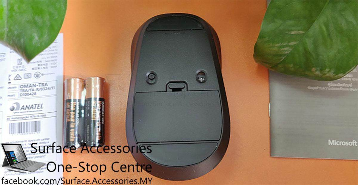 Microsoft Wireless Mouse 900 Wireless Optical Mouse Wireless 2.4Ghz Mouse Customizable Button Mouse Programmable Mouse [MICRSOFT MODEL PW4-00005]