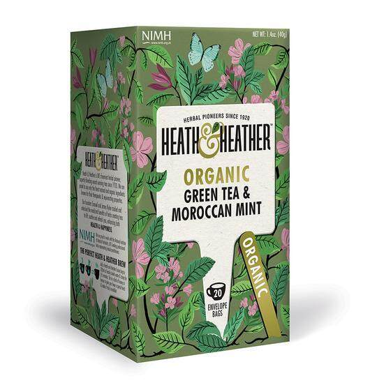 [MPLUS] TIFOLIFE HEATH AND HEATHER ORGANIC GREEN TEA WITH MOROCCAN MINT 40G