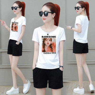 (Pre Order 14 days) JYS Fashion Korean Style Women Sport Wear Set Collection 540 - 4445 Design 5