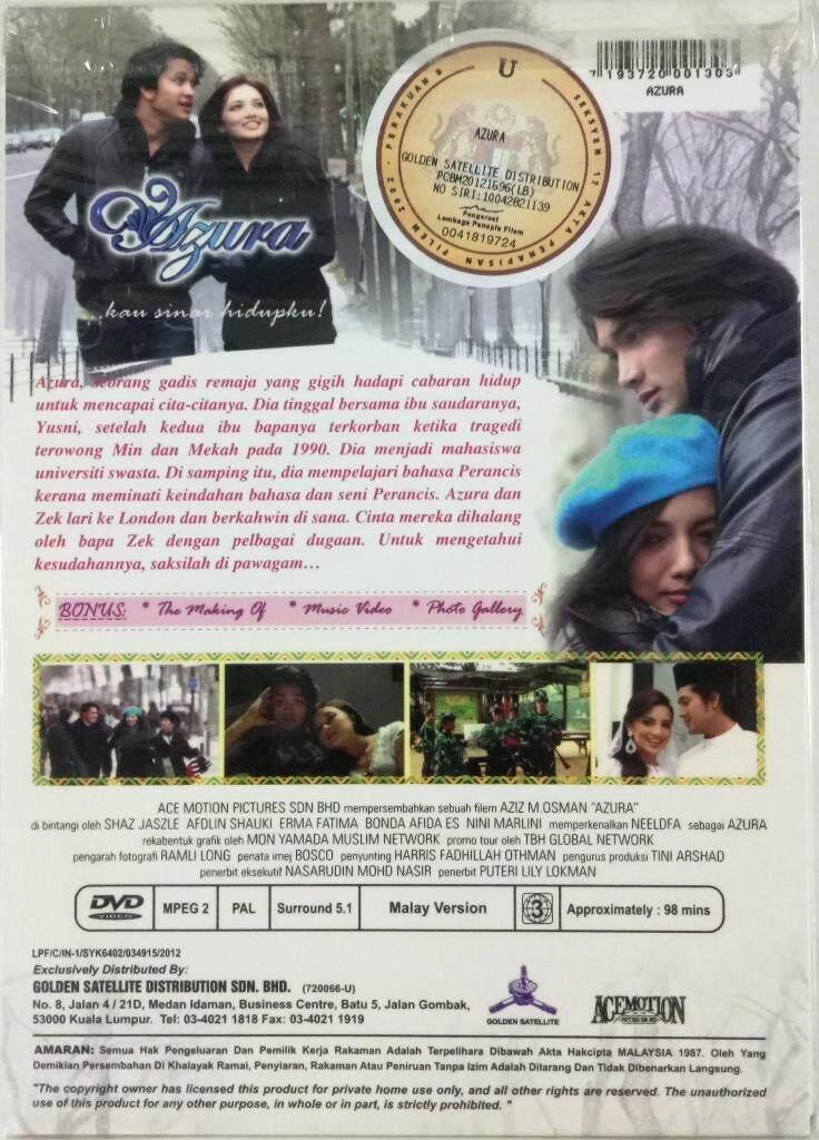 Malay Movie Azura DVD