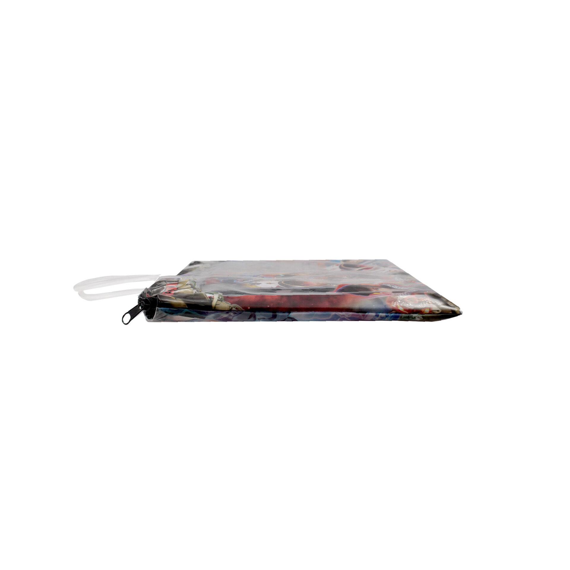 Transformers 6 in 1 Stationery Set With Pencil Case Pencil Eraser Ruler Sharperner Notepad (Boys)