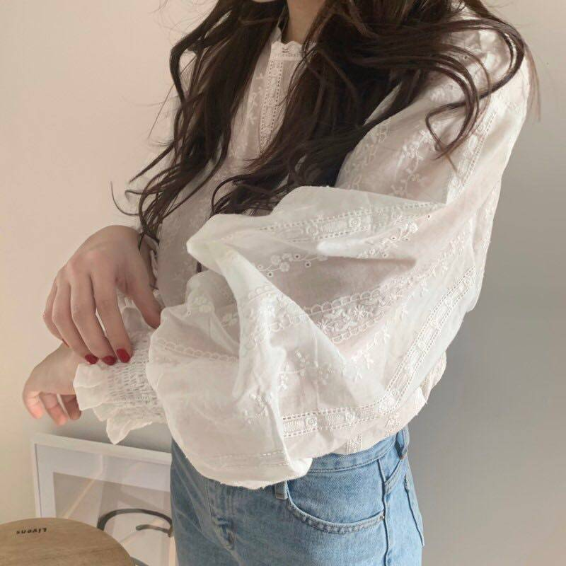 JYS Fashion Korean Style Women Long Sleeve Blouse or Top Collection 535- 5803