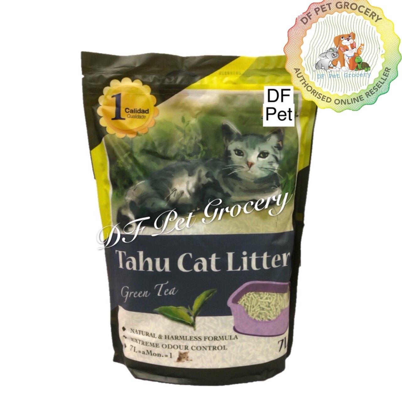 Kawan Tahu Cat Litter 7L -Mini Soya Clumping Cat litter