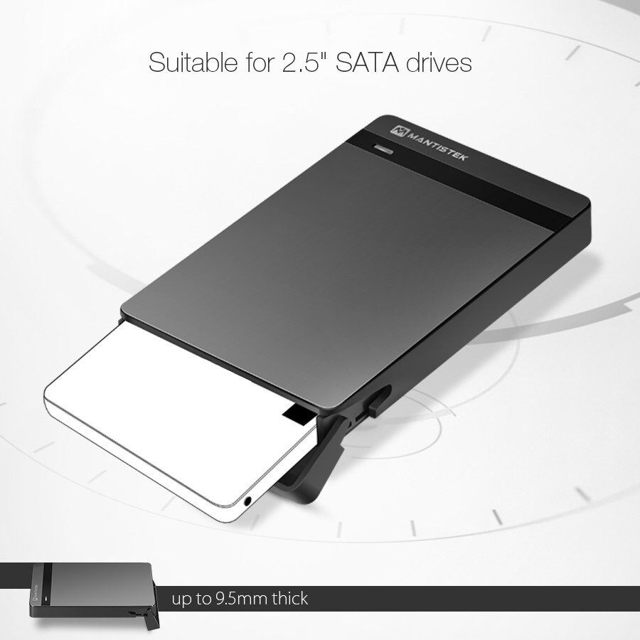 Pendrives - Tool-Free USB 3.0 SATA III HDD and SSD Enclosure External Case - Storage & Hard Drives