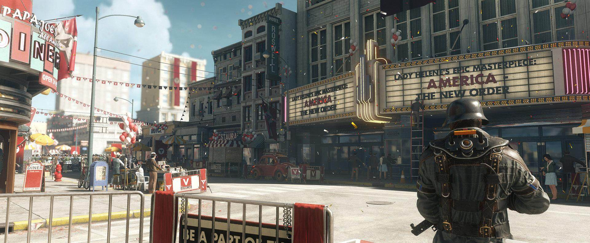 (Switch) Wolfenstein II: The New Colossus (US/ENG)