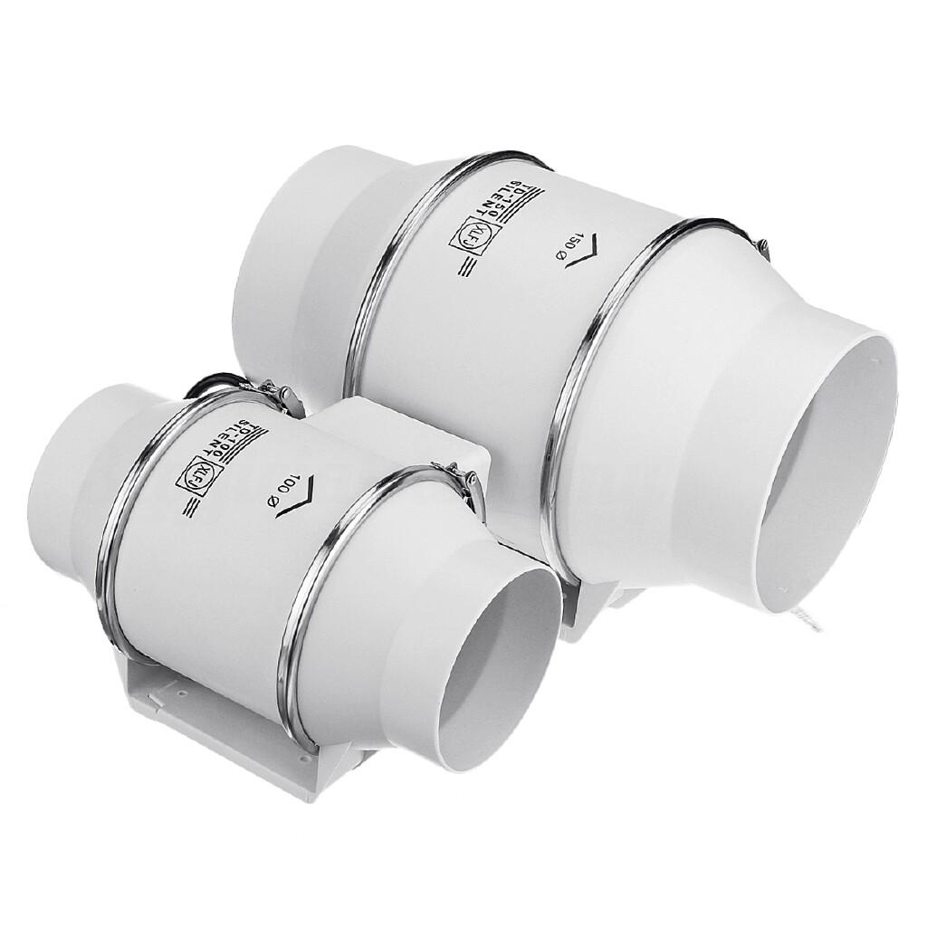 USB Fan - oblique flow pressurized circular duct fan kitchen exhaust fan - 8INCH / 6INCH / 4INCH