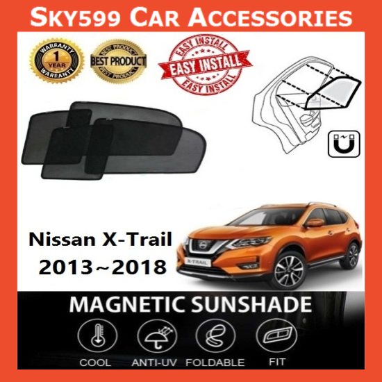 Nissan X-Trail 2015-2020 Magnetic Sunshade ?4pcs?