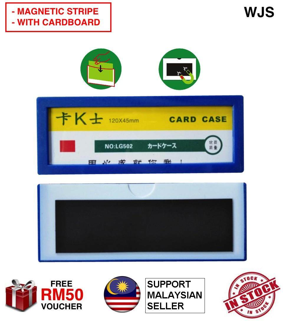 (5 IN A SET) WJS 5pcs 5 pcs Magnetic Rack Label Rack Naming Inventory Label Stock Label Racking Labling System BLUE [FREE RM 50 VOUCHER]
