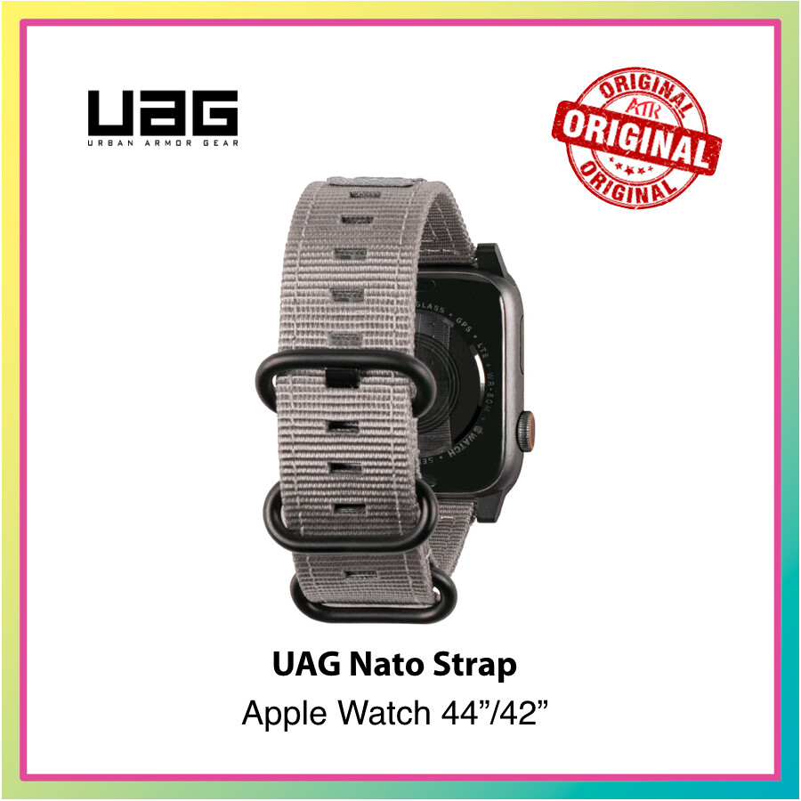 UAG Nato Strap for Apple Watch Band For 44mm/42mm  * Watch Band * Strength * Style * Sports