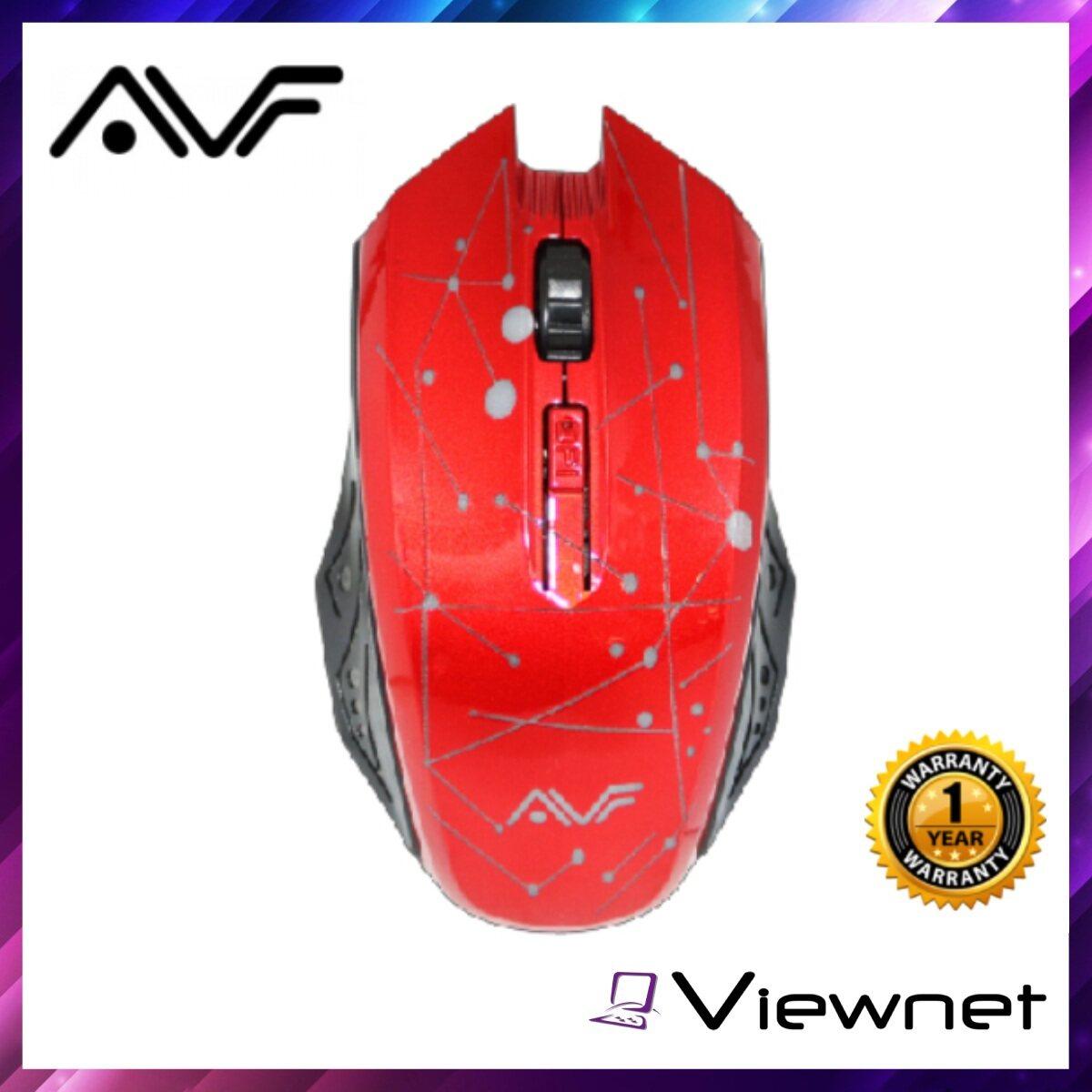 AVF AM6G Wireless Mouse, (AM6G), 1600DPI, USB Nano Receiver, 2.4GHz Wireless Technology