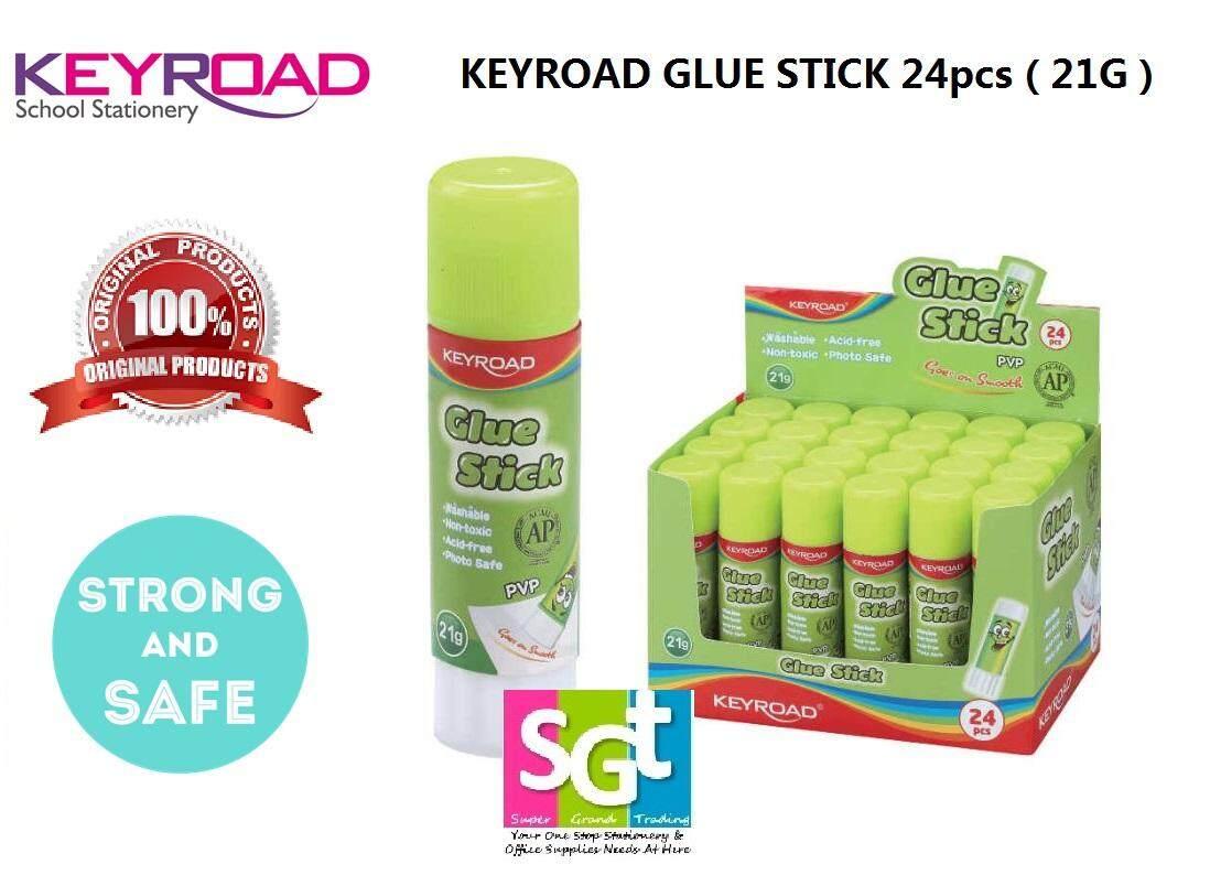Keyroad 21g PVP Glue Stick (24`s/Box) KR971292