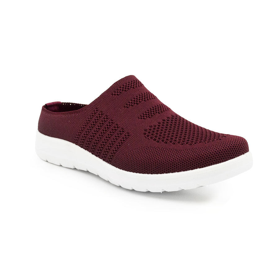 XES (Basic) Ladies BSLCBT01 Black/Navy/Maroon Slip-on Sneakers