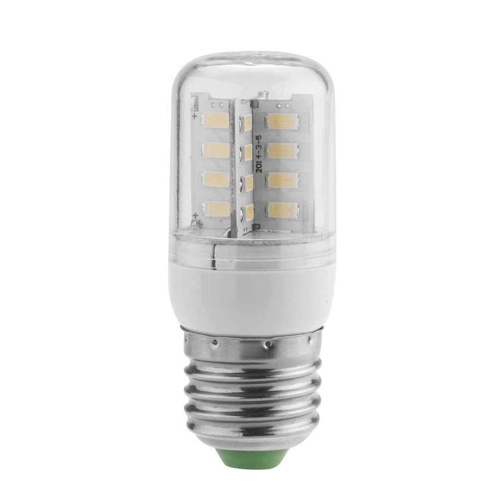 E27 3.5W 5630 SMD 32 LEDs Energy Saving Corn Light Lamp Bulb 360 Degree Warm White 200-230V