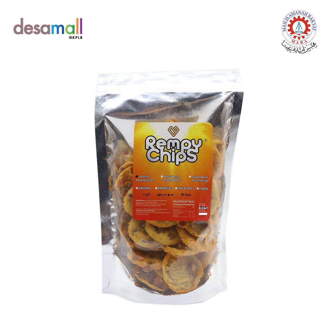 REMPY CHIPS Rempeyek Kacang Tanah (150g) - Original