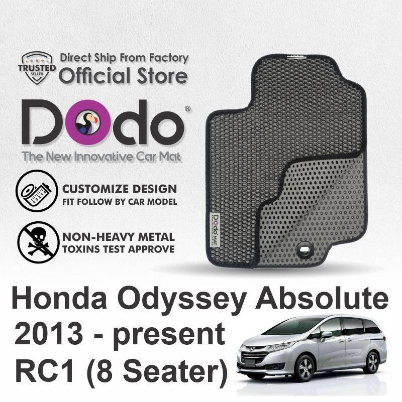 Dodo®Car Mat / Honda Odyssey Absolute / 2013-Present / RC1 ( 8 Seater )